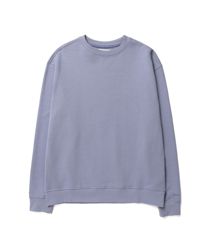 SOFT COTTON SWEATSHIRT[GREYISH BLUE]