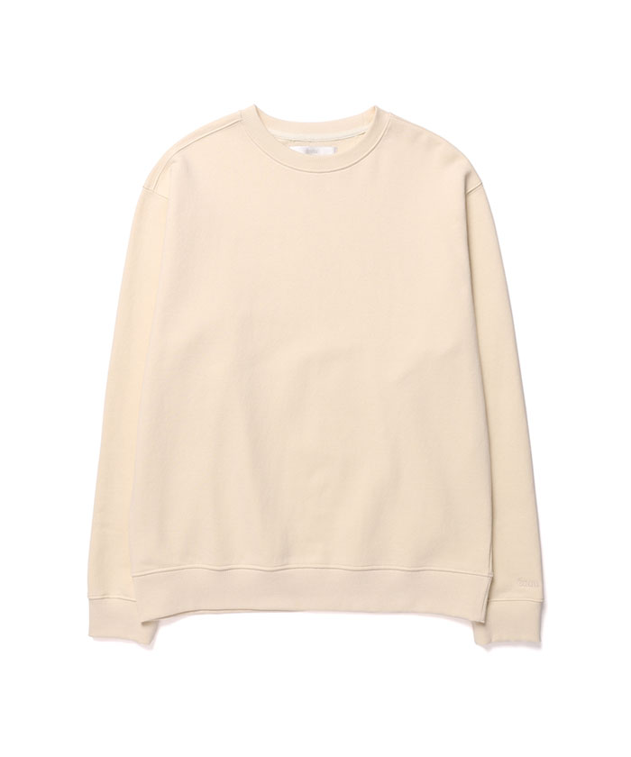 SOFT COTTON SWEATSHIRT[CREAM]