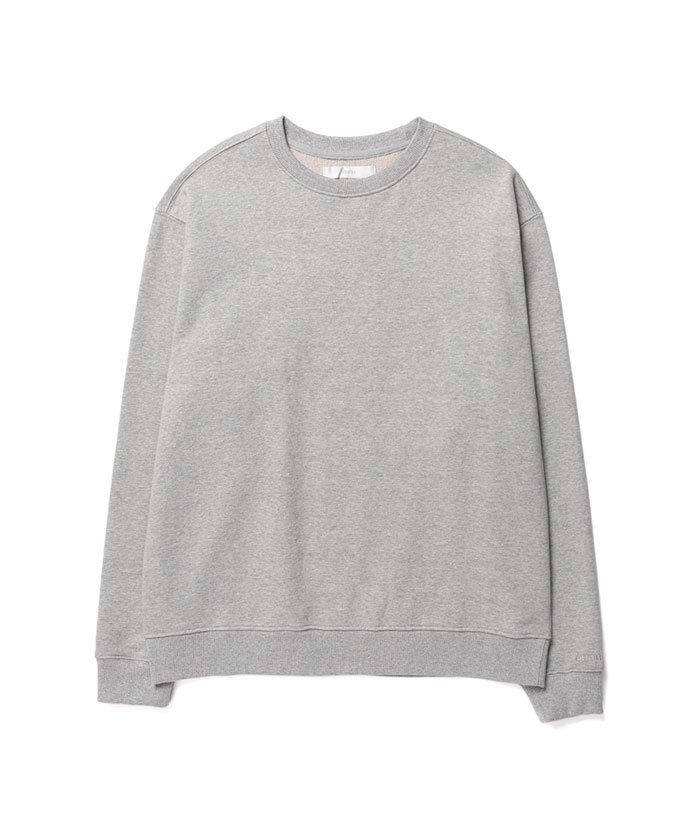 SOFT COTTON SWEATSHIRT[GREY]