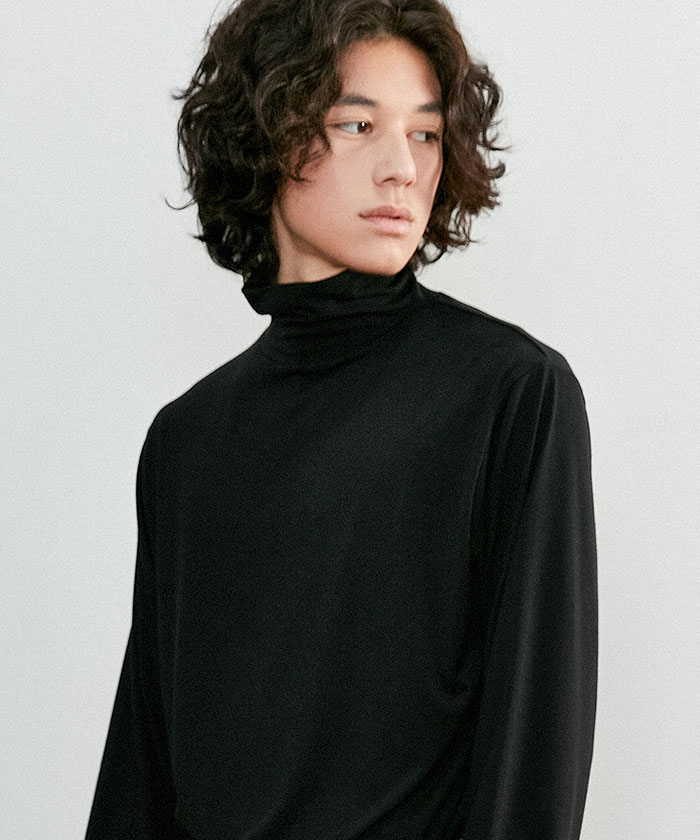 BASIC POLA KNIT[BLACK]