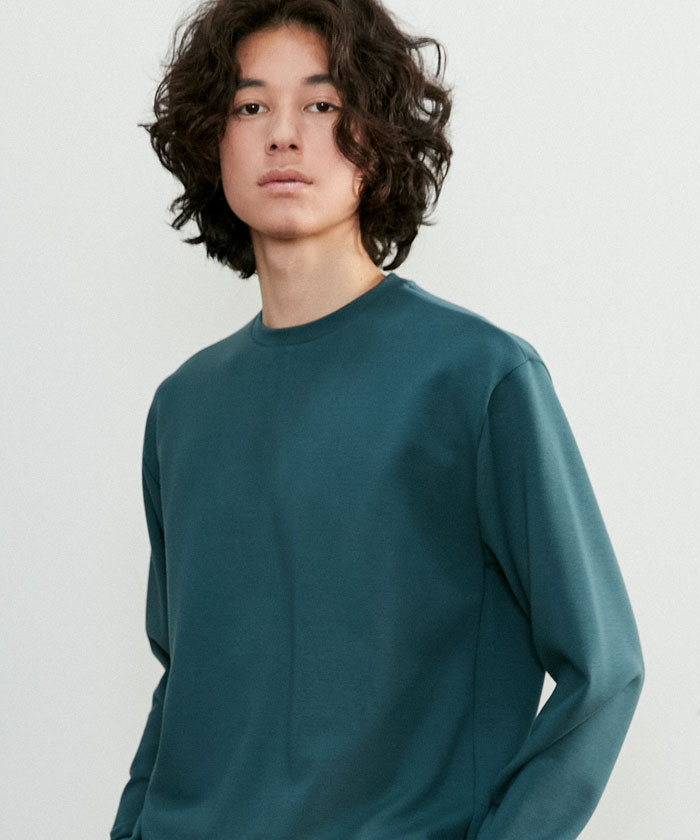 ESSENTIAL LONG TSHIRT[DARK GREEN]