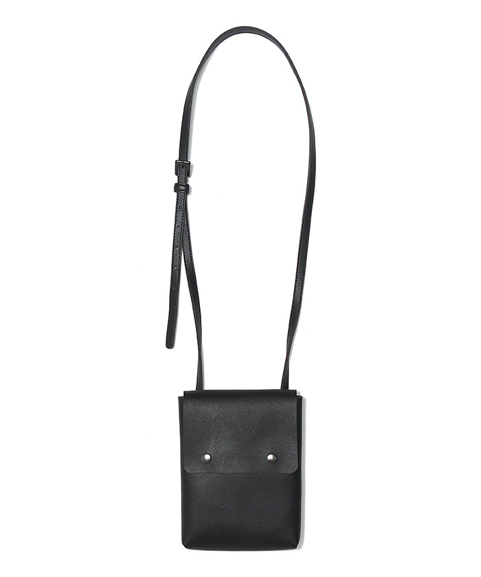 ECO LEATHER MINI BAG[BLACK]