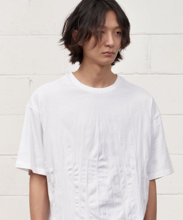 WRINKLE TSHIRT[WHITE]